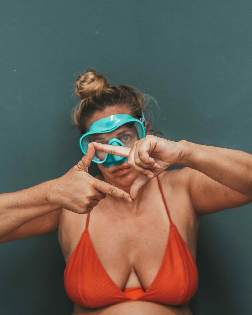 scuba hand signal for boxfish
