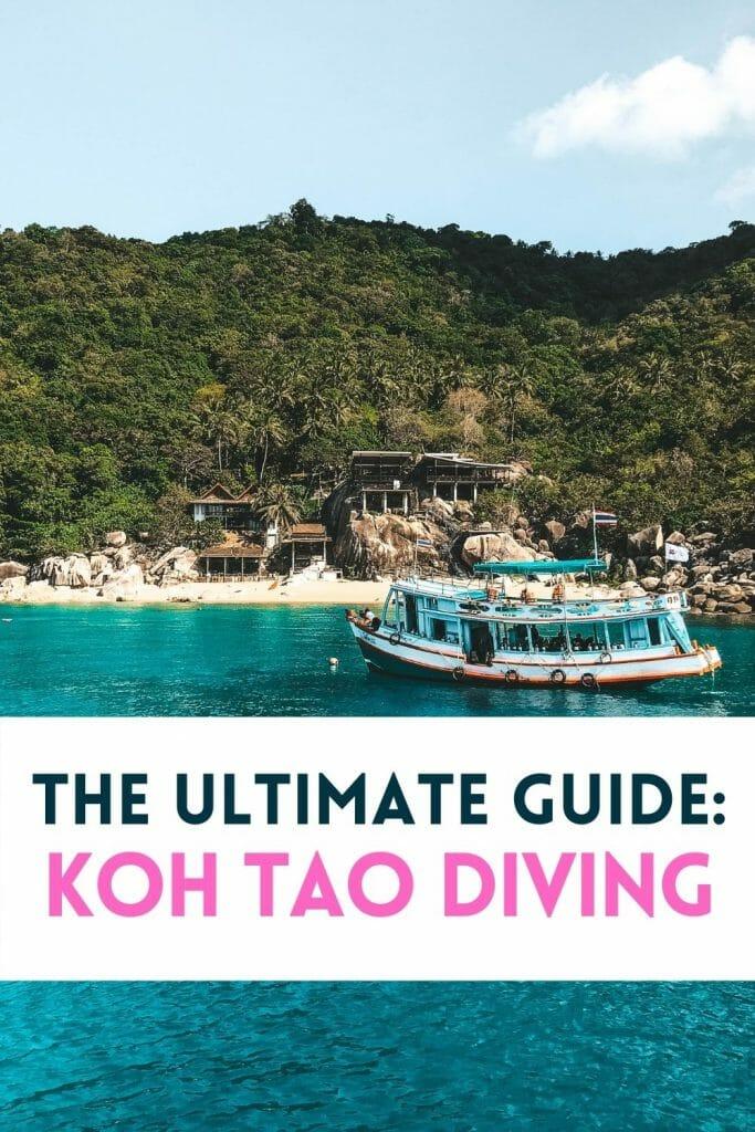 Pin for Koh Tao Scuba Diving