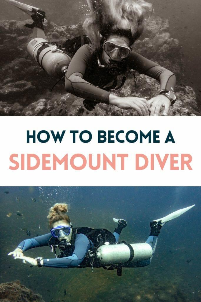 Pin for Sidemount Diver
