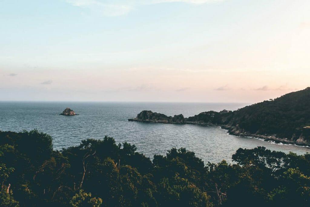 Aow Leuk Bay in Koh Tao