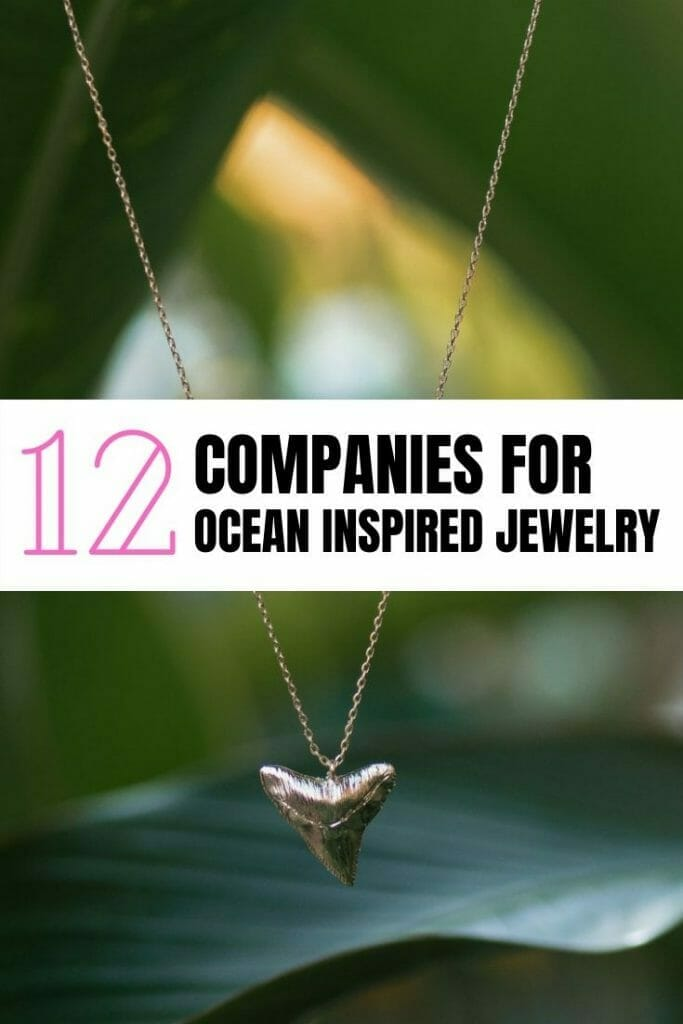Pin for ocean themed jewelry