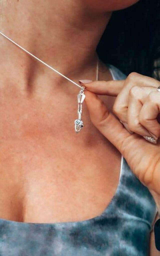 Girls that scuba diver necklace