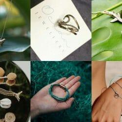 Various ocean themed jewelry