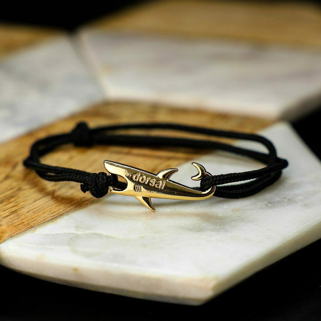 Dorsal bracelet with shark